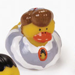 Retired Victorian Rubber Duck - Mary