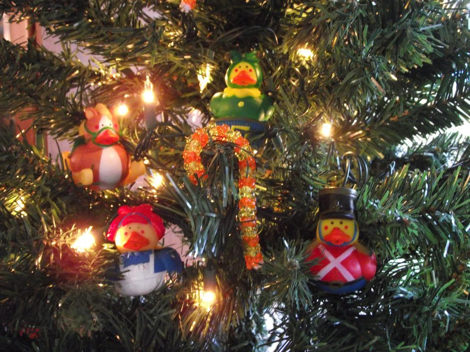 Christmas Toy Rubber Ducks - $5.00 : Ducks Only!, Exclusively Ducks