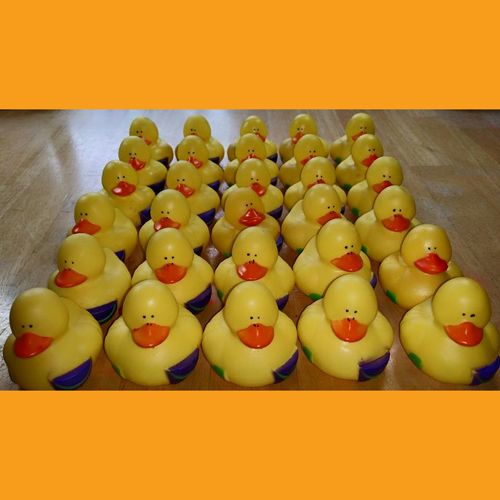 Beach Party Rubber Duck Phil and Pail - Click Image to Close